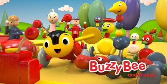 Buzzy Bee & Friends